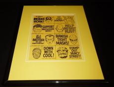 1967 Marvel Comics Framed 11x14 Poster Display Official Repro Spiderman Hulk