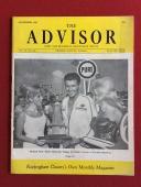 "1967, Richard Petty, ""The Advisor"" Rockingham Magazine (No Label) Rare"
