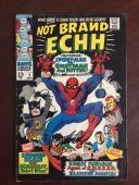 "1967, Stan Lee, ""Autographed"" (JSA), ""Not Brand ECHH"" #2 Comic Book (Scarce)"