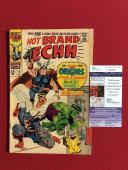 "1967, Stan Lee, ""Autographed"" (JSA), ""Not Brand ECHH"" #3 Comic Book (Scarce)"