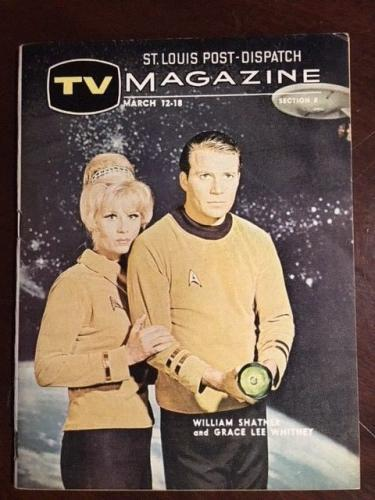 "1967, Star Trek (Capt. Kirk), ""TV Magazine (Scarce) (1st Year Cover)"