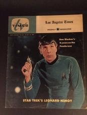 "1967 Star Trek, ""Mr. Spock"", ""TV Times"" Magazine, (Scarce)"