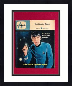 "1967, Star Trek (Spock), ""TV TIMES"" Guide (Scarce)  Lenard Nimoy"