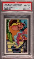 1968 A & Bc Superman In The Jungle #11 Luthor's Pop 6 Psa 8 X2397006-794