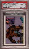 1968 A & Bc Superman In The Jungle #12 Ghastly Gorilla Pop 3 Psa 8 X2396939-793