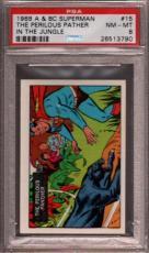 1968 A & Bc Superman In The Jungle #15 Perilous Pa R Pop 5 Psa 8 X2396940-790