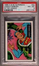 1968 A & Bc Superman In The Jungle #20 Ambush Pop 5 Psa 8 X2397002-786