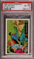 1968 A & Bc Superman In The Jungle #23 Lost City Pop 5 Psa 8 X2397161-773