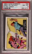 1968 A & Bc Superman In The Jungle #26 Jimmy On Spot Pop 5 Psa 8 X2397162-772