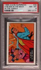 1968 A & Bc Superman In The Jungle #28 A Blade Back Pop 3 Psa 8 X2397156-770