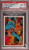 1968 A & Bc Superman In The Jungle #4 A Inferno Pop 7 Psa 8 X2397067-799