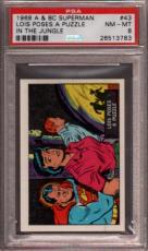 1968 A & Bc Superman In The Jungle #43 Lois Poses A... Pop 6 Psa 8 X2397172-783