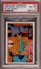 1968 A & Bc Superman In The Jungle #44 One Down-one To Pop 4 Psa 8 X2397173-782