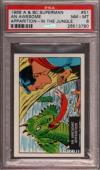 1968 A & Bc Superman In The Jungle #51 An Awesome Pop 5 Psa 8 X2397170-780
