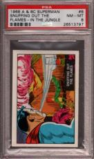 1968 A & Bc Superman In The Jungle #6 Snuffing Out Pop 8 Psa 8 X2397069-797