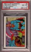 1968 A & Bc Superman In The Jungle #8 A Grateful People Pop 3 Psa 8 X2397070-796
