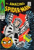 1968 Amazing Spider-man #58 John Romita Sr. Cover Color Proof Marvel Comics