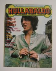 1968 Hullabaloo Magazine Rolling Stones Mick Jagger Doors Janis Great Condition