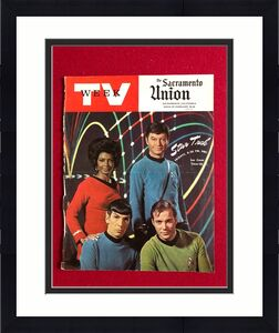 "1968, Star Trek, ""TV Week"" (Cover Only) (Kirk / Spock) Scarce"