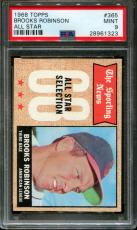 1968 Topps All Star #365 Brooks Robinson Orioles Hof Psa 9 B2564464-323
