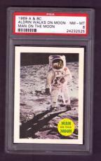 1969 A & BC ALDRIN WALKS ON MOON PSA NM-MT 8 Man On The Moon