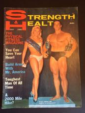 "1969 Arnold Schwarzenegger, ""Strength & Health"" Magazine"
