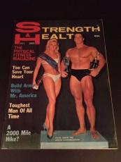 "1969 Arnold Schwarzenegger, ""Strength & Health"" Magazine (No Label)"