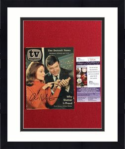 "1969, William Shatner (Star Trek), ""Autographed"" (JSA) TV Magazine (Scarce)"