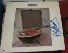 1970 B.b. Bb King Blues Legend Signed Indianola Mississippi Seeds Album Jsa/coa