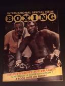 "1970 Joe Frazier, ""International Boxing"" Magazine (No Label)"