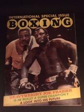 "1970 Joe Frazier, ""International Boxing"" Magazine (No Label)"