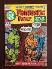 "1970, Stan Lee, ""Autographed"" (JSA) ""Fantastic Four"" Comic Book (Scarce)"