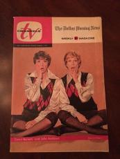 "1971 Carol Burnett & Julie Andrews, Dallas Morning News, ""TV Channels"" Magazine"
