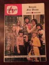 "1972 Brady Bunch, Detroit Free Press, ""TV Channels"" Magazine"