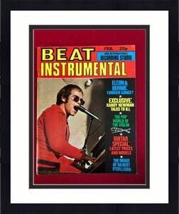 "1972, Elton John, ""BEAT INSTRUMENTAL"" Magazine (No Label) Scarce / Vintage"