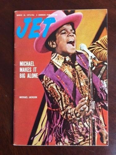 "1972 Michael Jackson, ""JET"" Magazine (No Label)"