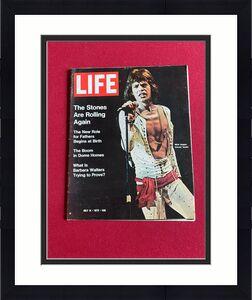 "1972, Mick Jagger, ""LIFE"" Oversize Magazine (No Label) Scarce / Vintage"
