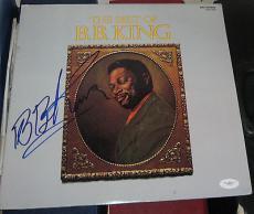 1973 B.B. BB KING Blue Lengend SIGNED Best Of BB King Album JSA/COA AUTOGRAPHED