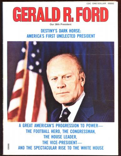 1974 Gerald Ford Our 38th President Booklet EX+