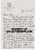 1974 Natalie Wood Wagner Hand Signed Letter With Envelope France Psa/dna Rip