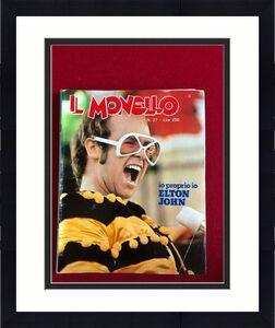 "1975, Elton John, ""IL MONELLO"" Magazine (No Label) Scarce / Vintage"