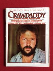 "1975, Eric Clapton, ""CRAWDADDY"" Magazine (No Label)"