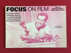 "1975, Jack Nicholson, Cuckoo's Nest, ""Focus on Film"" Magazine (Scarce)"