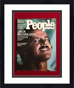 "1975, Jack Nicholson, ""People"" Magazine (No Label) Scarce"