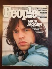 "1975, Mick Jagger, ""People"" Magazine (No Label) ""The Rolling Stones"