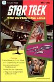 1976-77 STAR TREK ENTERPISE E-LOGS ISSUES #nn (#1),2,3,4 HIGH GRADE GOLDEN PRESS