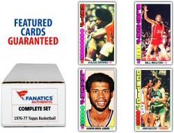 1977-78 Topps Basketball Complete Set of 264 Cards