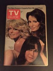 "1976 Charlie's Angels (Farrah Fawcett), ""TV Guide"" No Label"