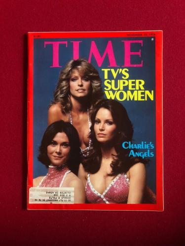 "1976, Charlie's Angels, ""TIME"" Magazine (Farrah Fawcett)"