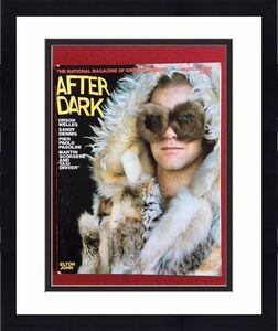 "1976, Elton John, ""After Dark"" Magazine (No Label) Scarce"